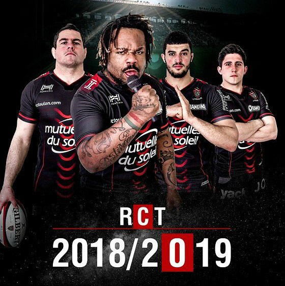 Camiseta Toulon Rugby 2019-2020 Local - camisetasrugby.es