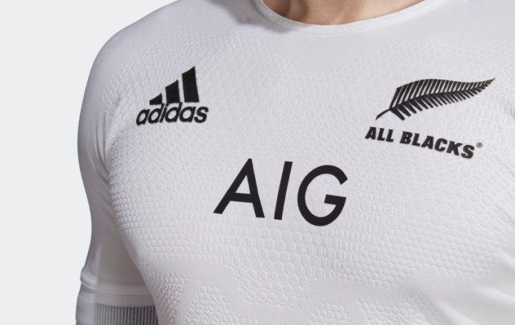 camiseta rugby All Blacks 2019