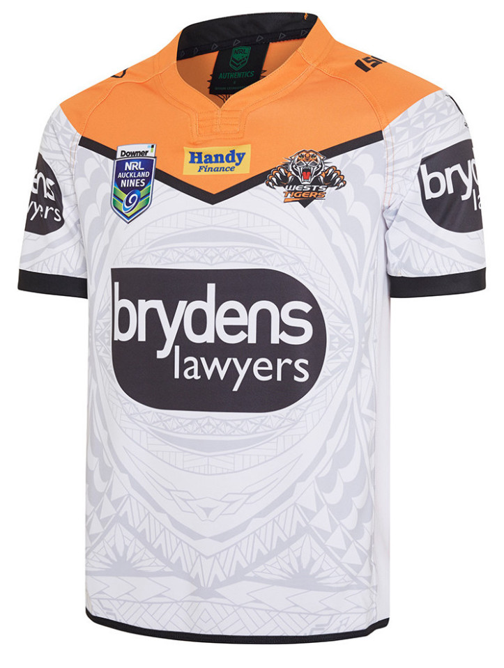 camiseta rugby Wests Tigers 2019