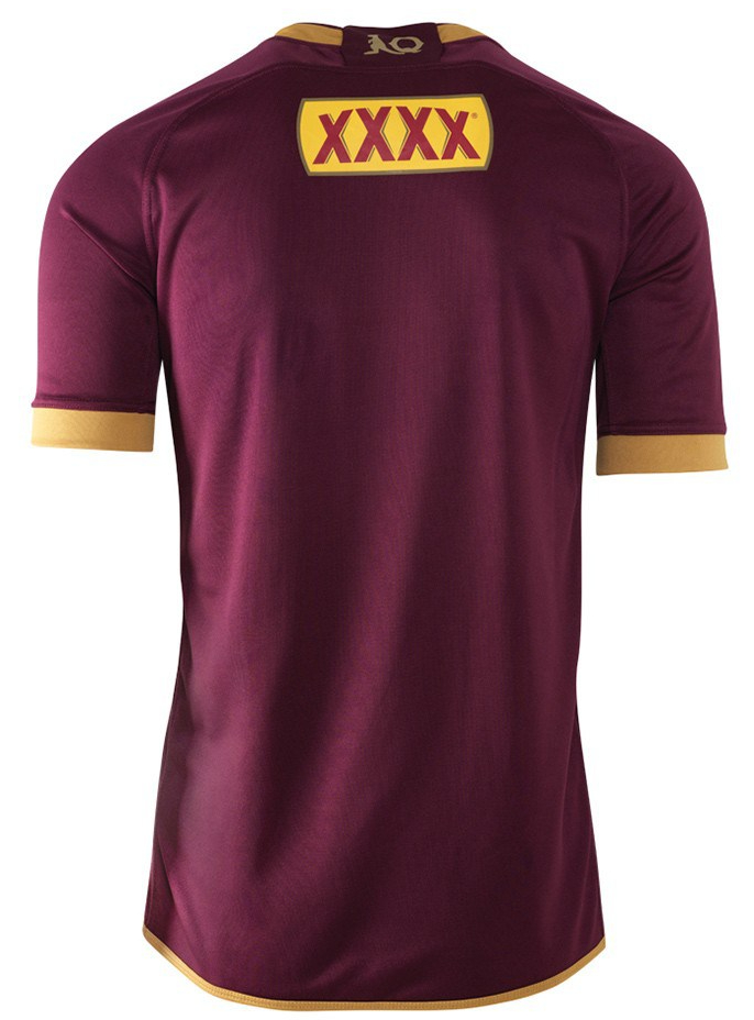 camiseta rugby Queensland Maroons