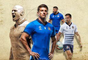 camisetas rugby Italia