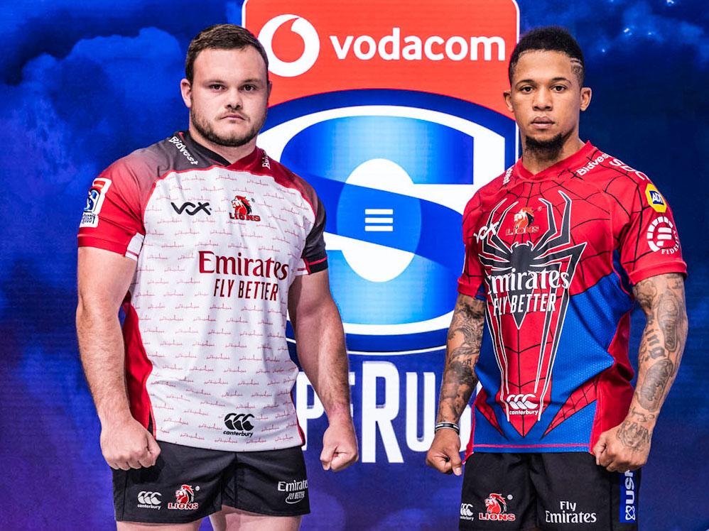 Emirates Lions revela las camisetas de Super Rugby 2020