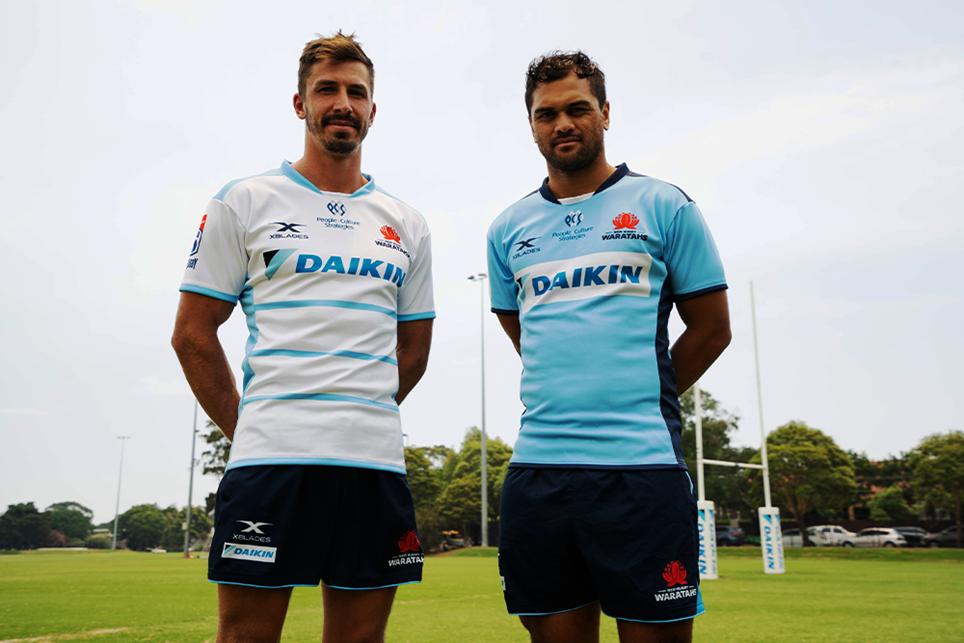 Waratahs, NSW revela la camiseta 2020 XBlades