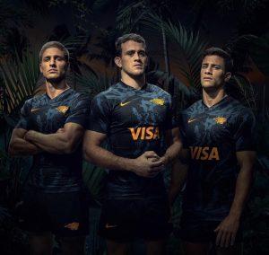 camisetas rugby Jaguares
