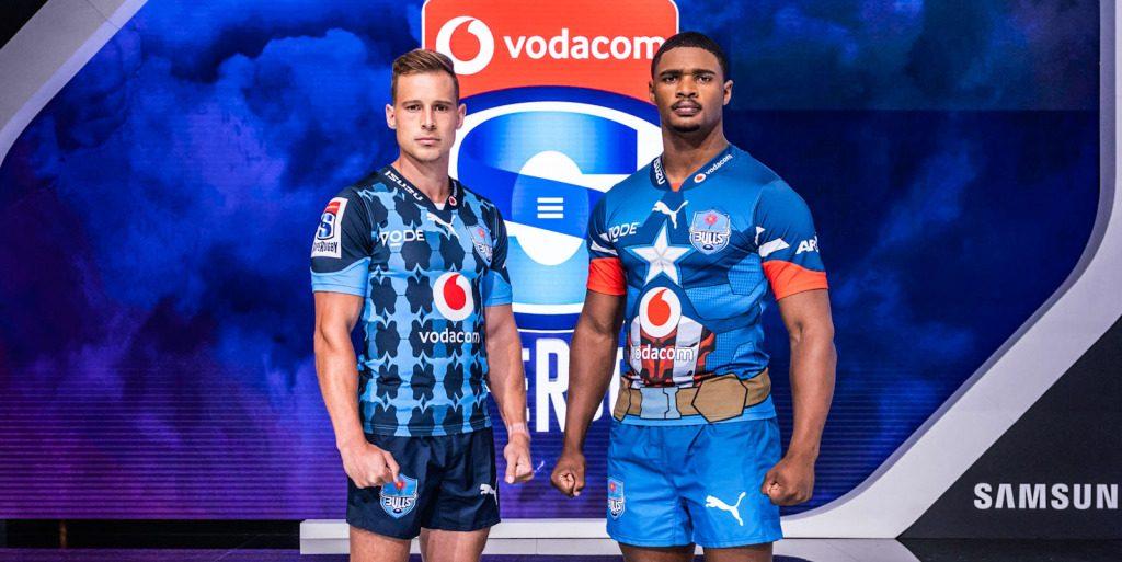 Los Bulls muestran la camiseta Super Rugby 2020