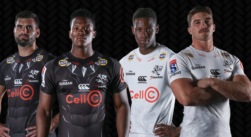 Cell-C Sharks lanza las camisetas 2020 Super Rugby