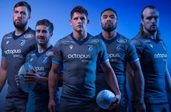 camisetas rugby Cardiff Blues replicas