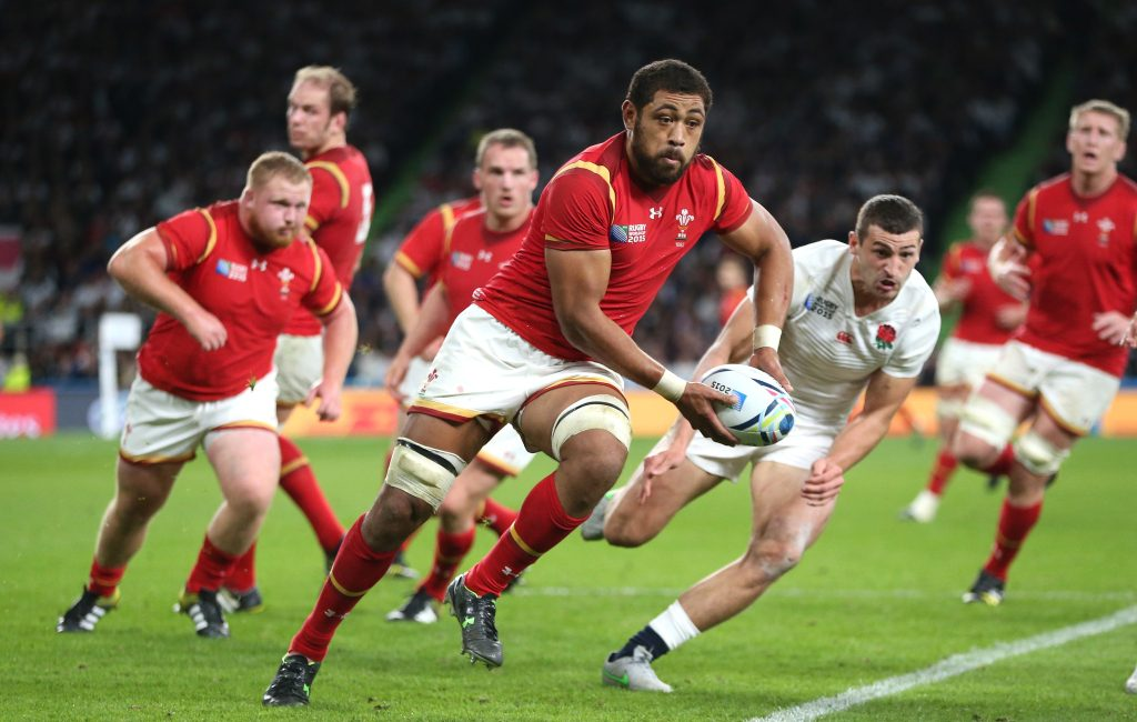 Camisetas de rugby galés: 2015 y 20/2019