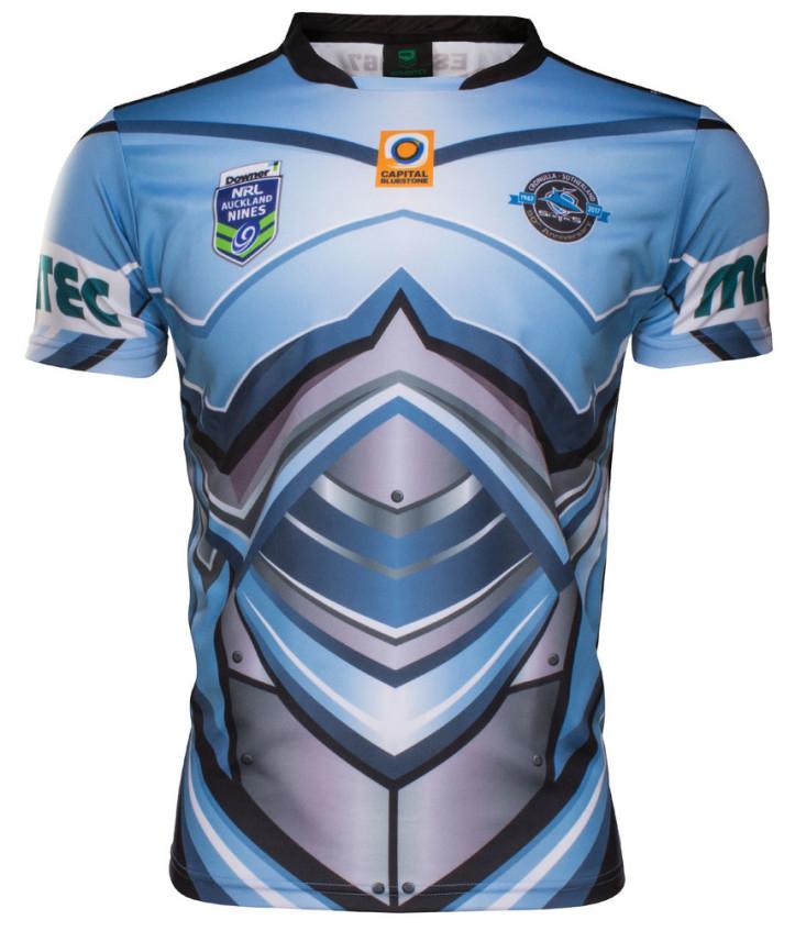 camiseta rugby Cronulla Sutherland Sharks 2019