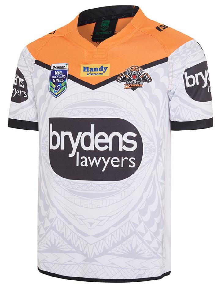 camiseta rugby Wests Tigers 2019