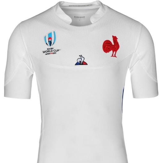 camiseta rugby Francia 2019