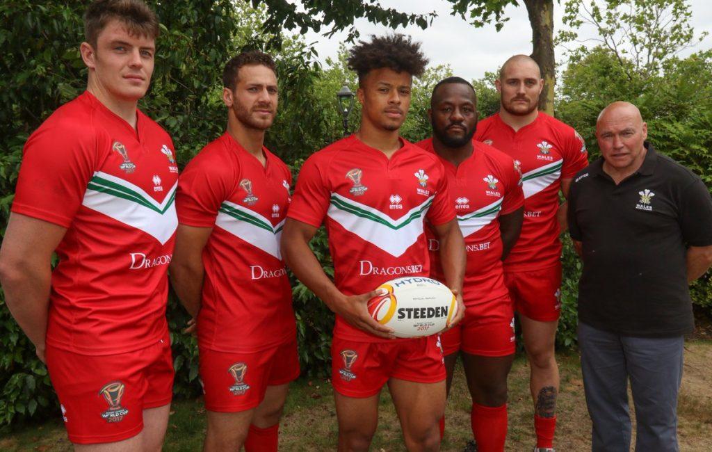 Resumen: camiseta Gales RLWC 2017 Errea