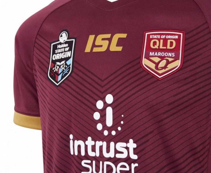 camiseta rugby Queensland Maroons