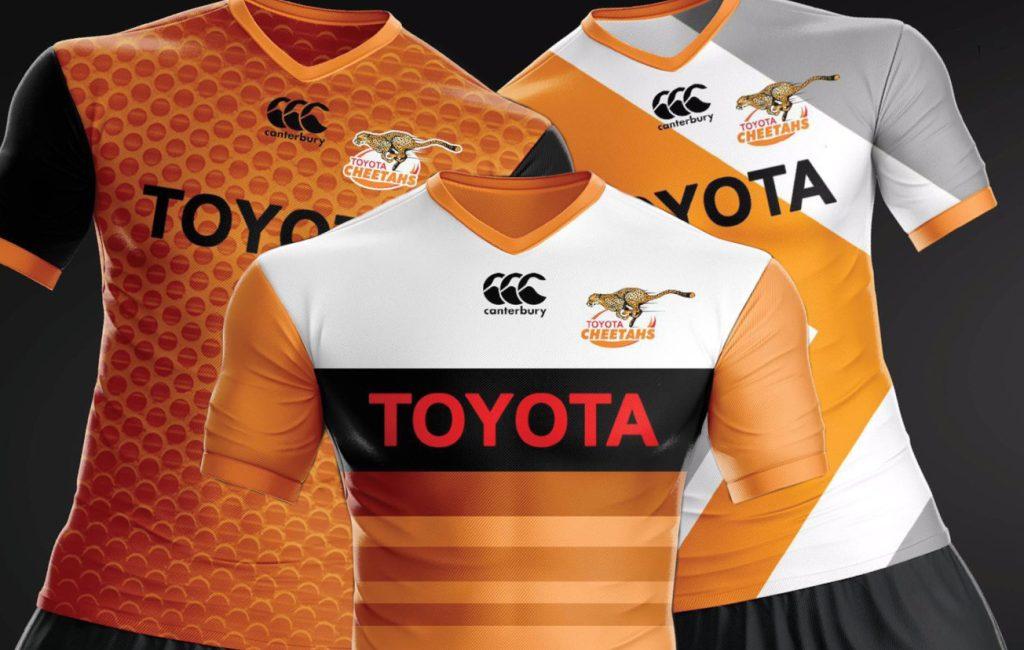 Las nuevas camisetas de los Cheetahs son geniales