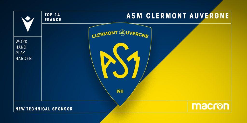 Clermont Auvergne firma el contrato a largo plazo de Macron